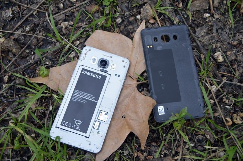 batería del Galaxy J7 2016