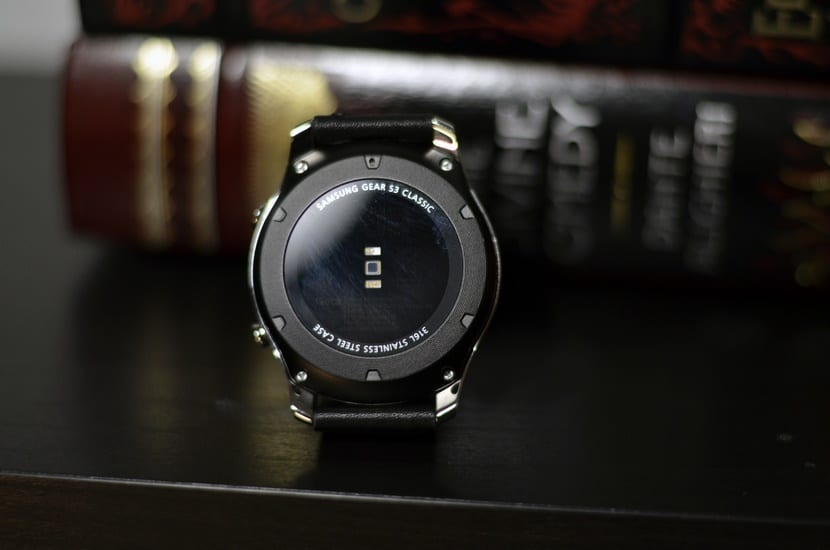 Sensor ritmo cardíaco Gear S3