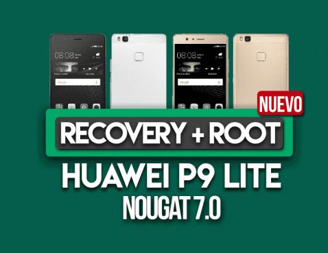 Huawei P9 Lite con Nougat 7.0