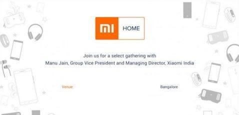 Xiaomi, a punto de abrir su primera tienda Mi Home en la India