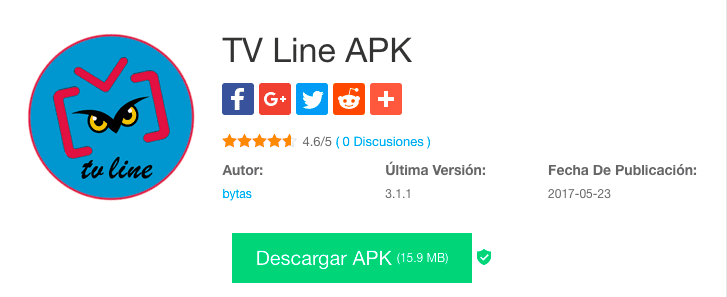 TV Line descarga APK