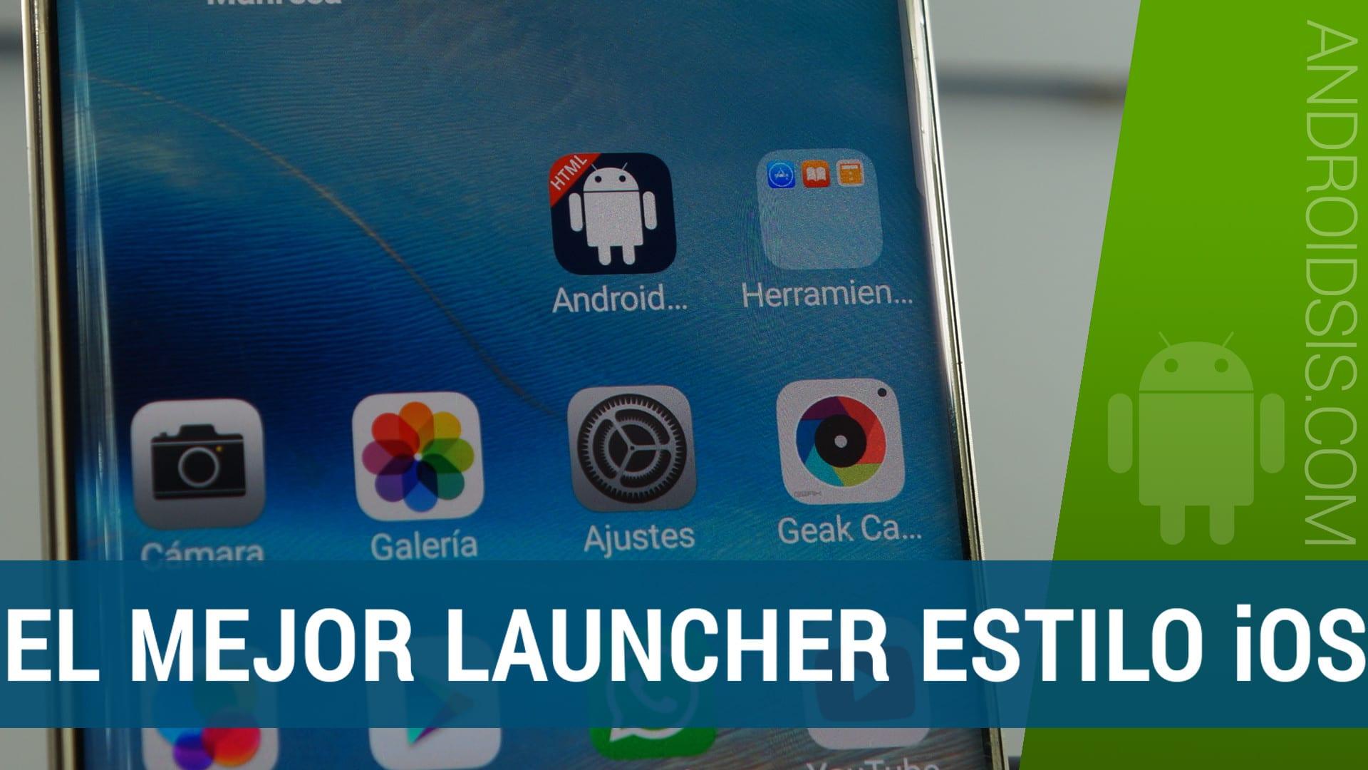 Un Launcher a lo iPhone que clava la interfaz de iOS