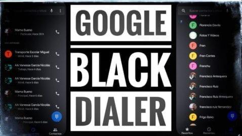 Google Black Dialer