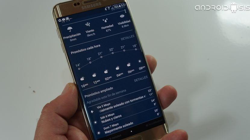 [APK] Descarga e instala la espectacular y renovada aplicación de el Tiempo de Alcatel en cualquier Android