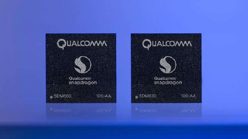Qualcomm Snapdragon 660 y 630