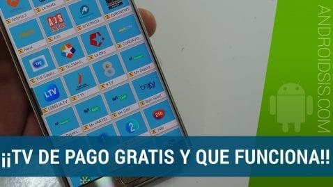 TV de pago gratis en tu smartphone