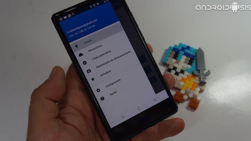 100 Gb gratis de almacenamiento en la nube con sincronización automática en Android