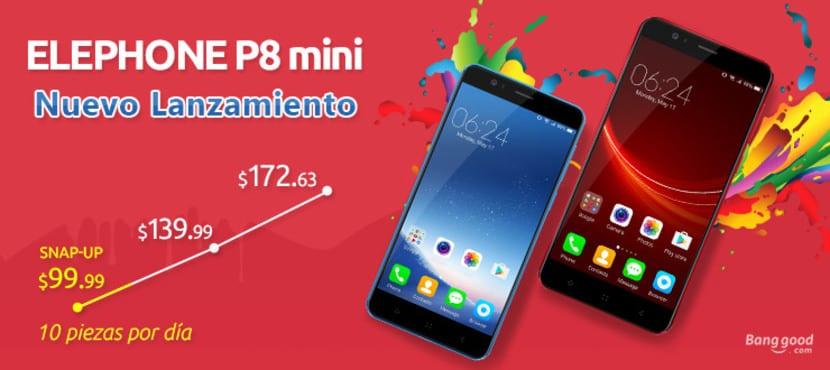 Elephone P8 mini(