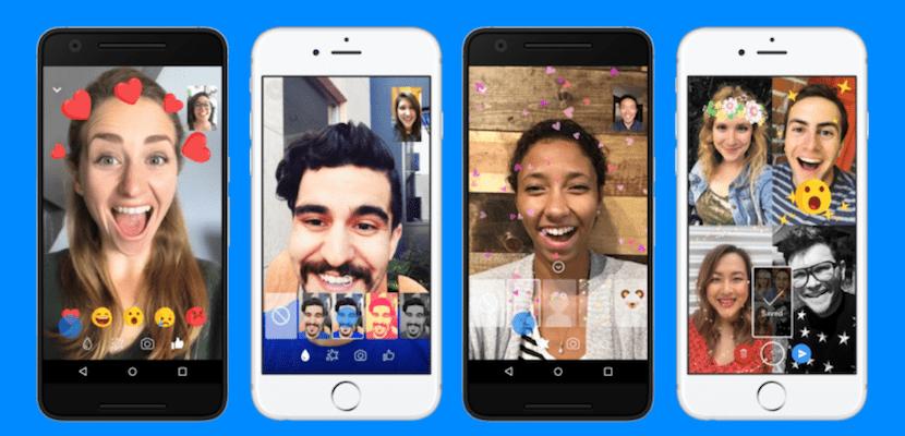 Facebook Messenger agrega reacciones y filtros a las videollamadas