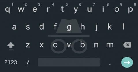 Android O muestra un modo incógnito para Gboard