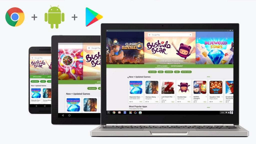 Android en Chromebooks