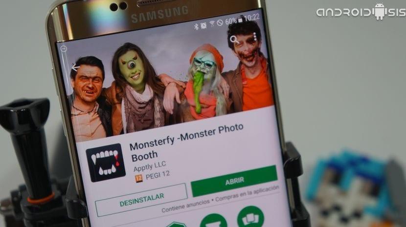 ¡¡Una aplicación terroríficamente divertida!!