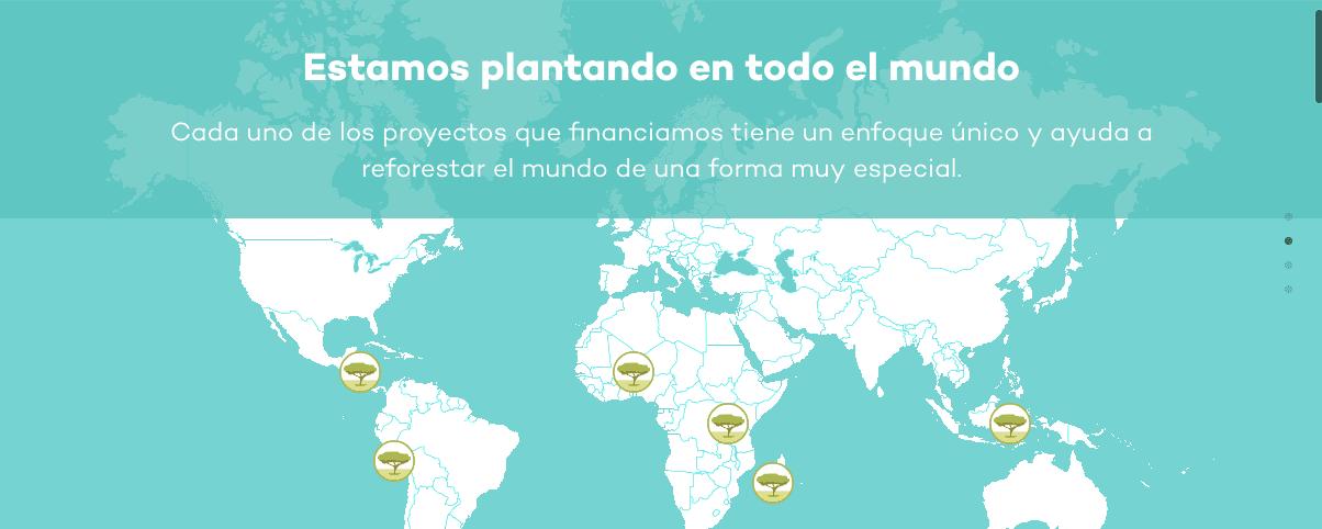 Ecosia, el buscador web que planta árboles por el mundo con la ayuda de tu terminal Android