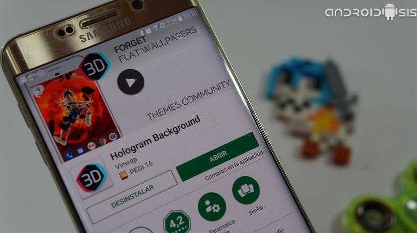 Descarga los mejores hologramas 3D para Android