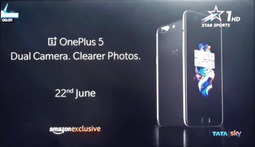 Anuncio OnePlus 5