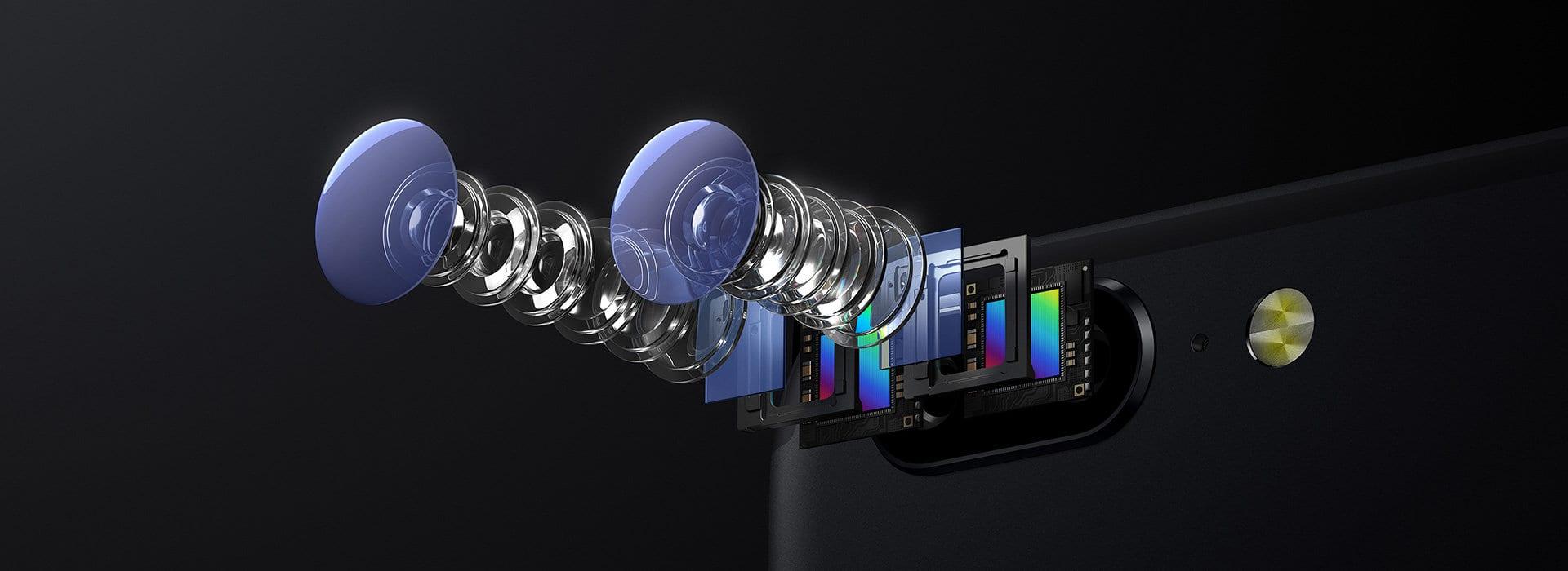 OnePlus 5 - Cámara dual