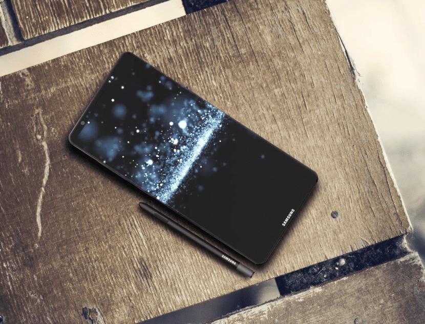 Prototipo del Galaxy Note 8