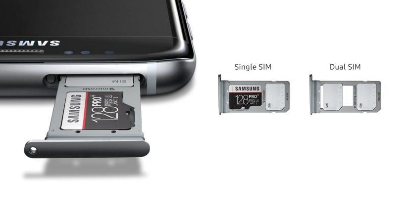 Tarjeta dual sim S8+