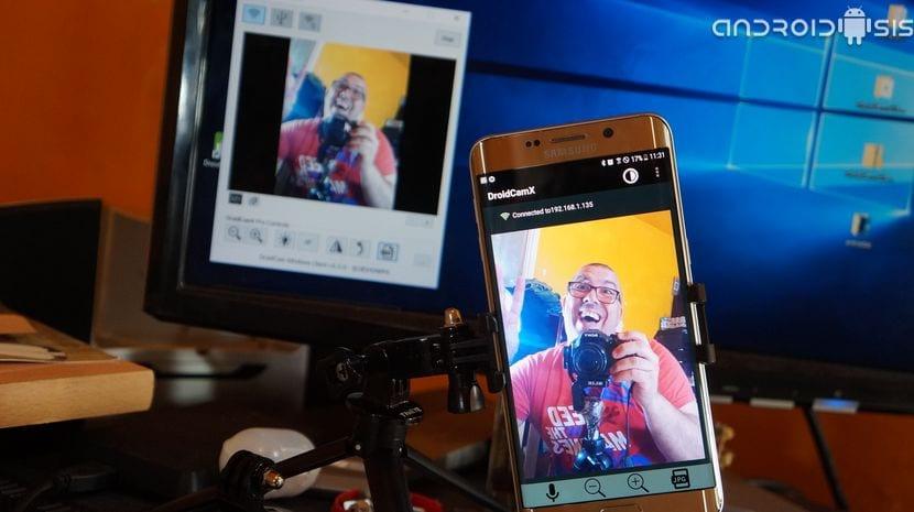 Cómo convertir tu Android en una Webcam