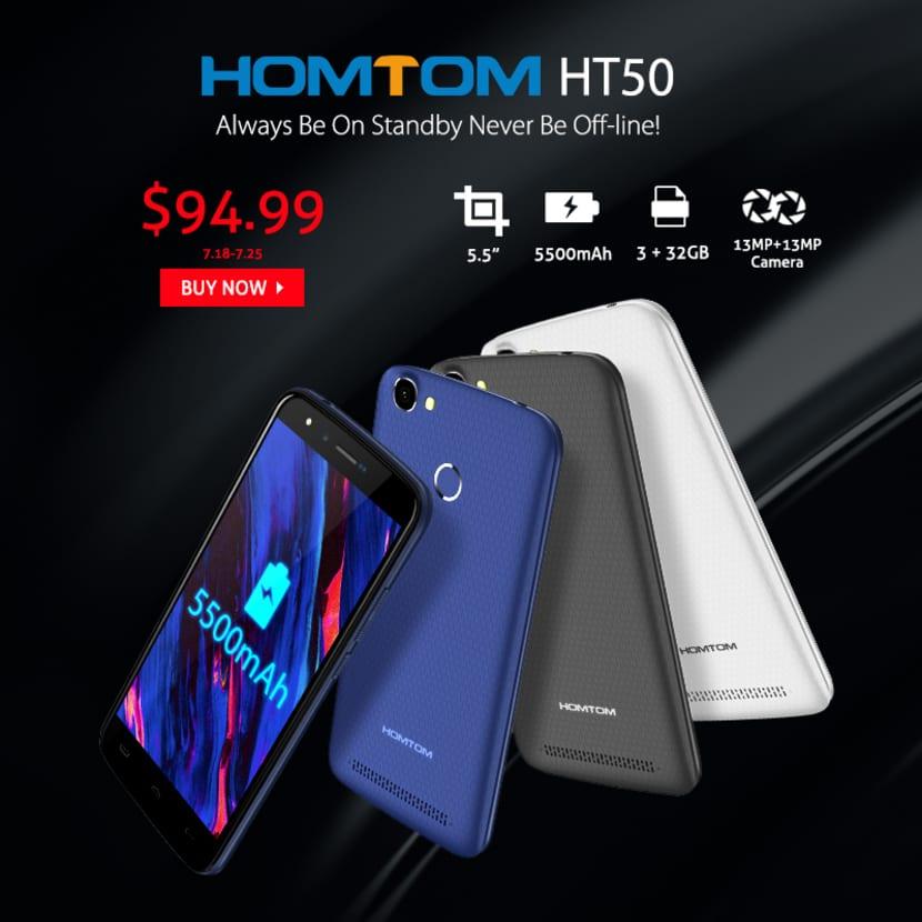 HOMTOM HT50