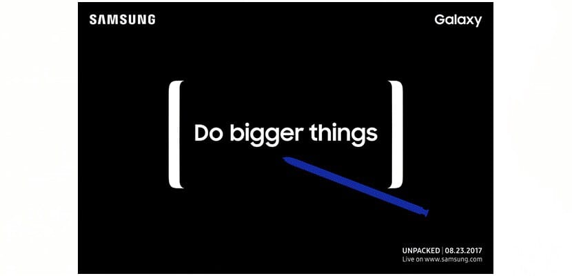 Este es el Samsung Galaxy Note 8 Midnight Black y Dorado