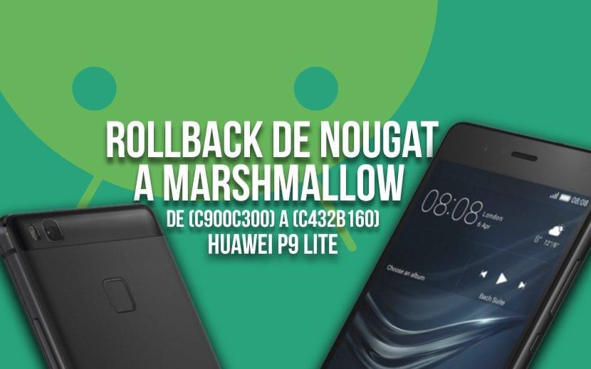rollback Huawei P9 Lite