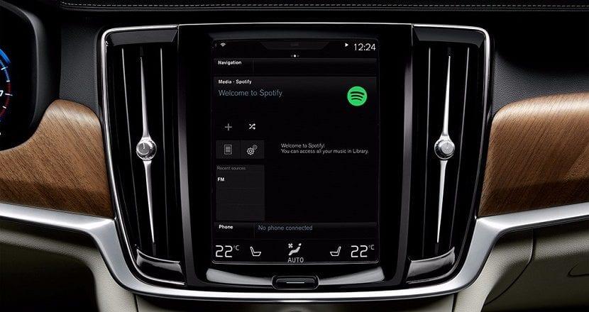 Spotify en el coche