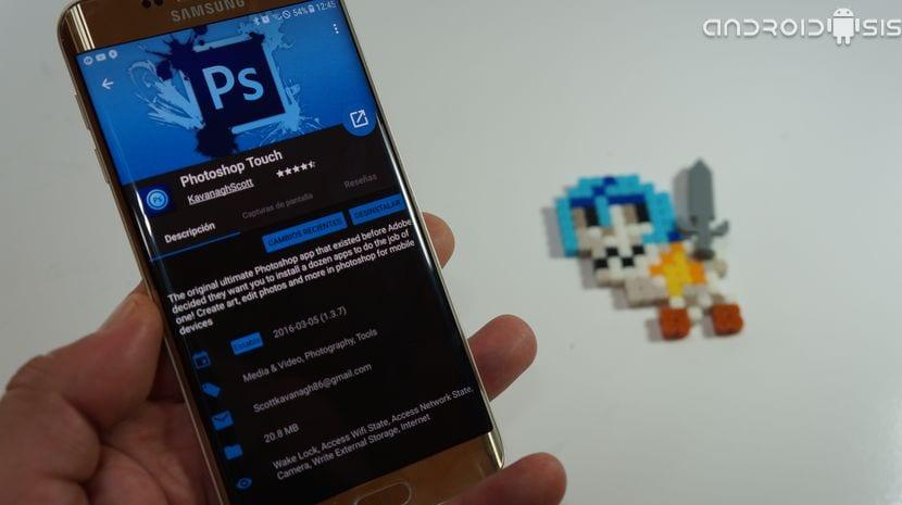 [APK] Photoshop Touch o lo que debería haber sido el auténtico Photoshop para Android
