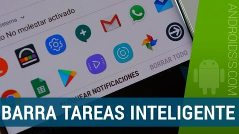 Barra herramientas inteligente para Android