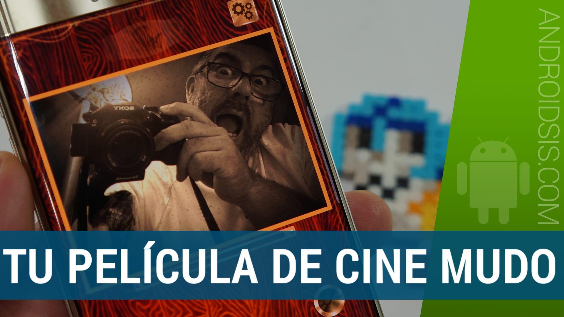 Cómo realizar películas de cine mudo desde Android