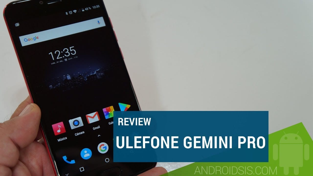 Review Ulefone Gemini Pro