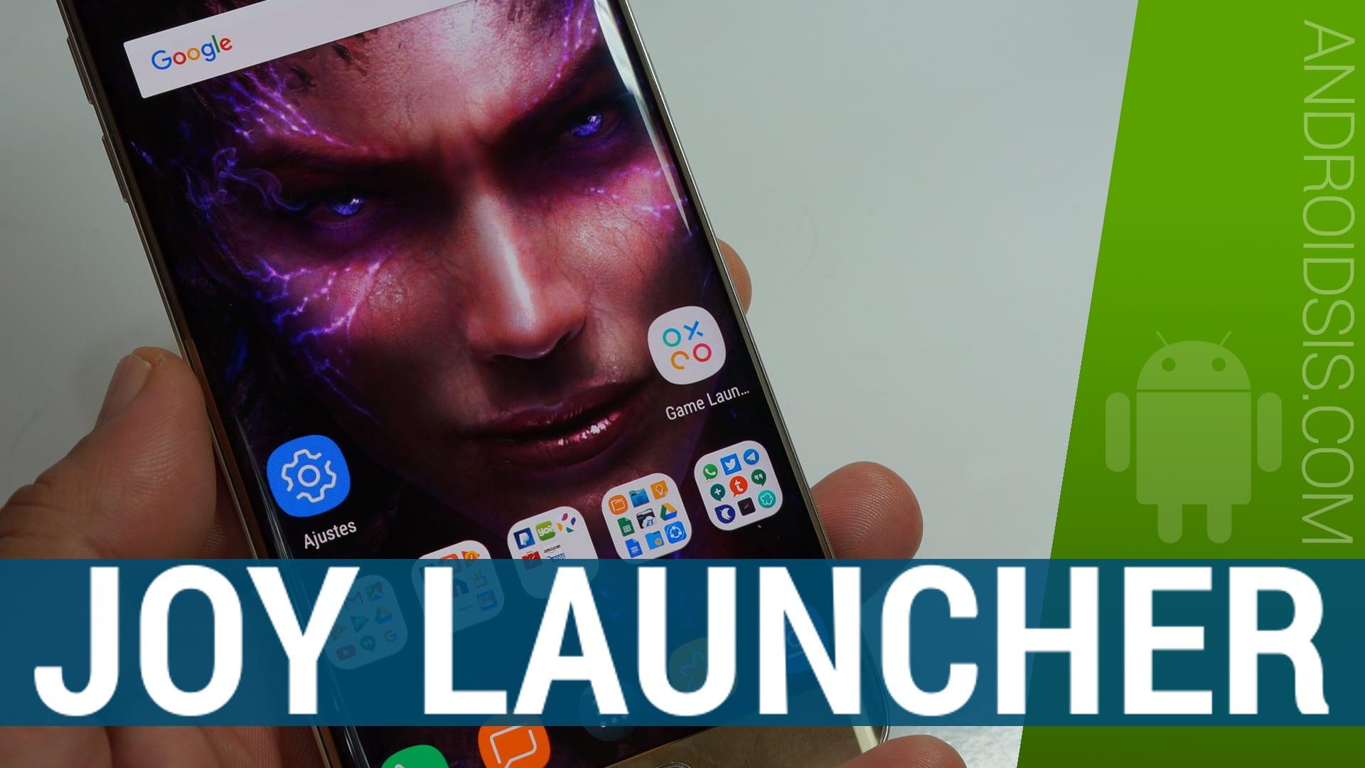 Joy Launcher Live Wallpaper, un Launcher elegante rápido y sin complicaciones