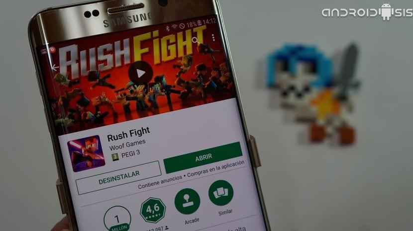 Juegos guapos y adictivos: Hoy, Rushfight, ¡Cuidado que engancha!