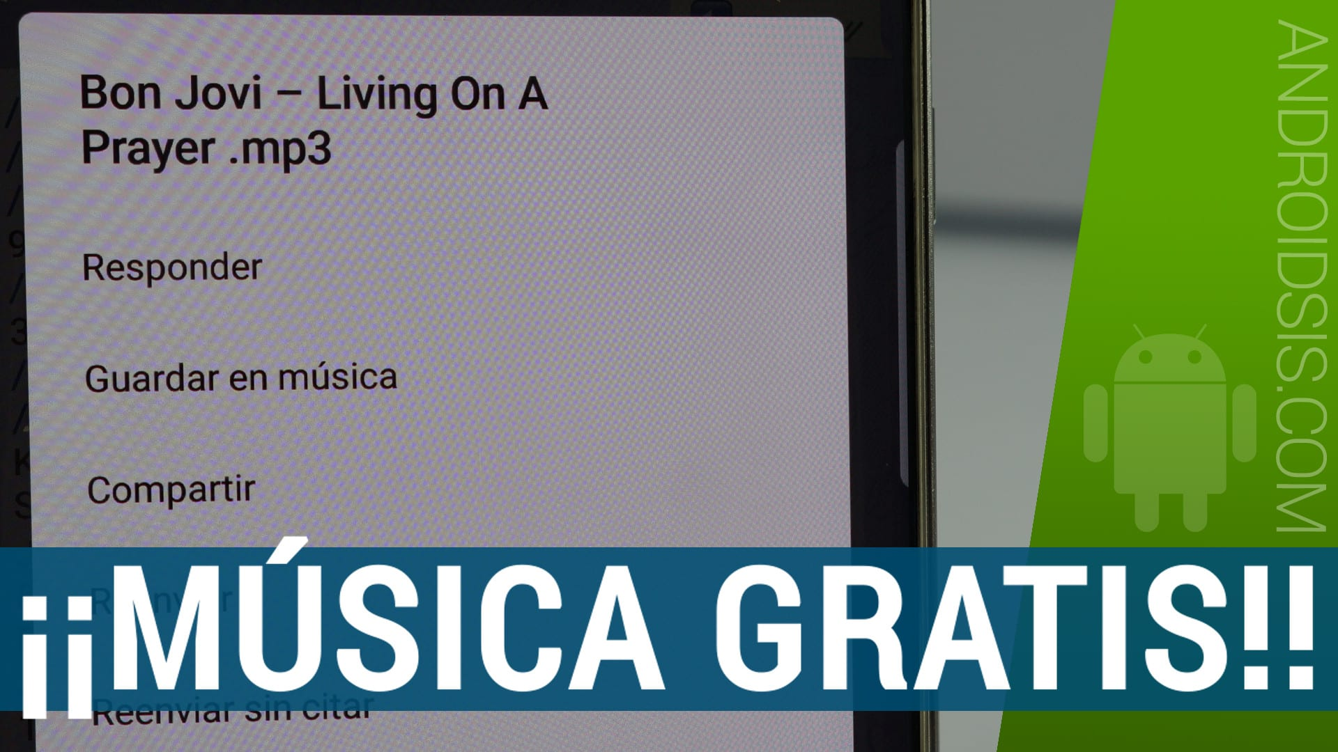 Bajar música gratis