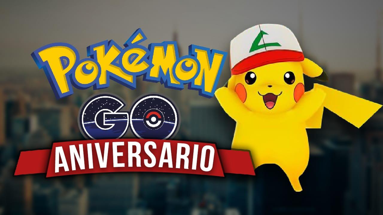 Pokemon Go aniversario lanzamiento nuevo evento