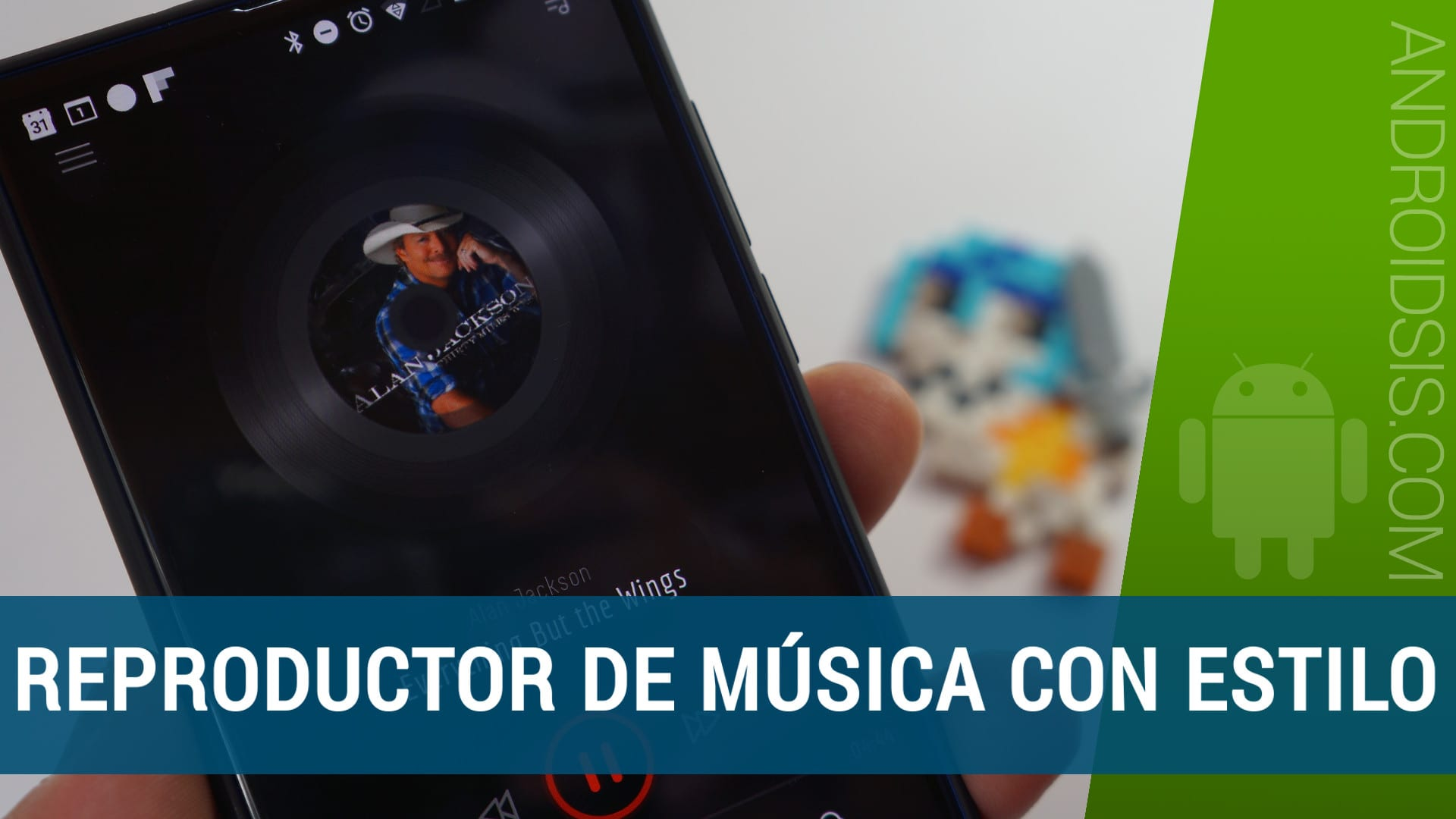 Abbey Music Player, un reproductor de música con un estilo diferente