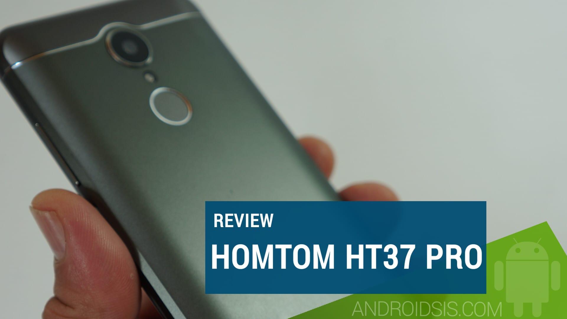 Review Homtom HT37 PRO, ¡no te vas a creer lo que ofrece por menos de 80 Euros!
