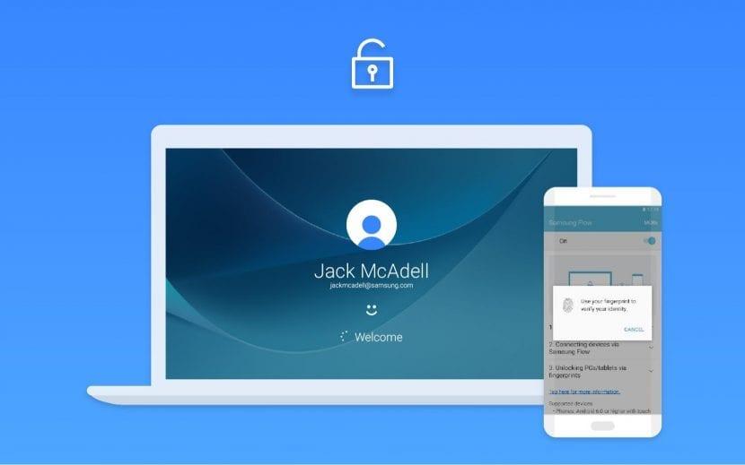 Desbloqueo Samsung Flow Windows Hello