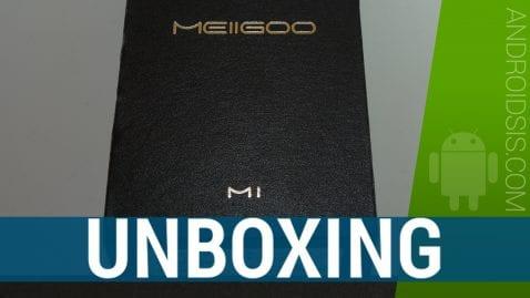 Unboxing Meigoo M1 y primeras impresiones del terminal con 6Gb de RAM por menos de 200 euros