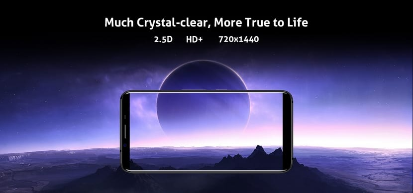 HOMTOM S8, el primer smartphone chino con pantalla 18:9