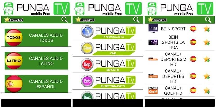TV Online Punga Free