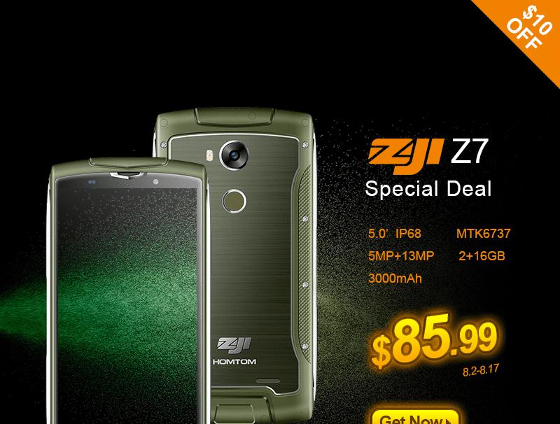 Zoji Z7  promoción