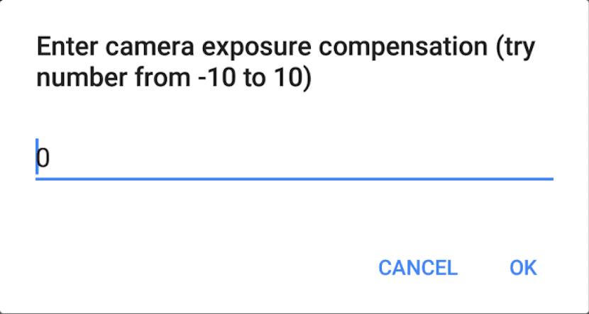 Google Duo controles de cámara