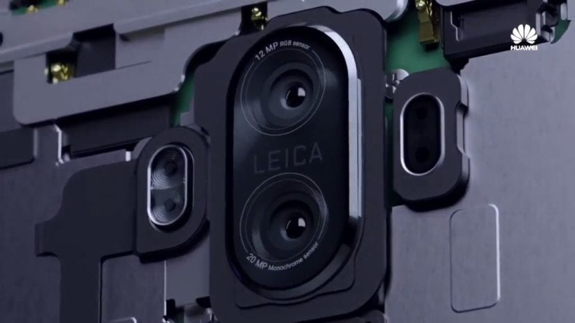 Cámara dual del Huawei Mate 10