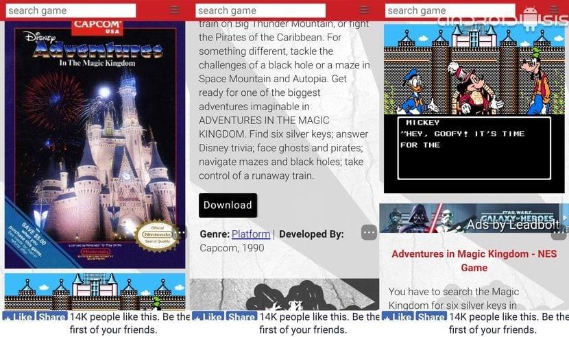 La mejor página para descargar juegos NES