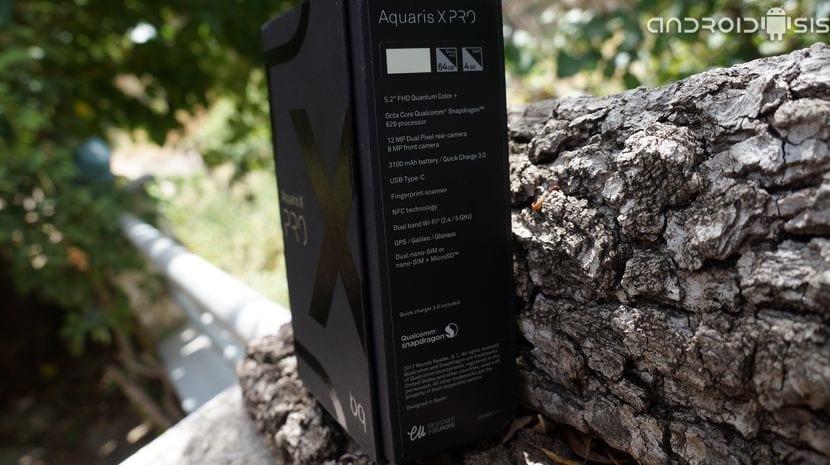 Unboxing BQ Aquaris X Pro y primera toma de contacto