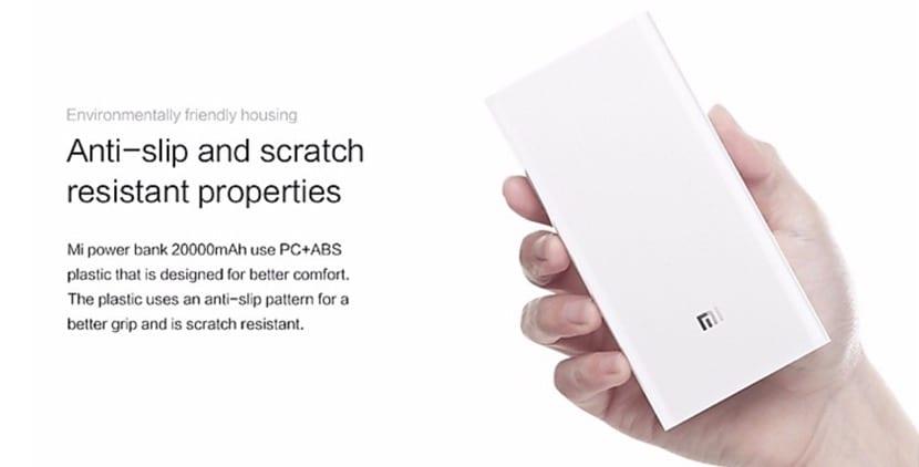 Xiaomi Mi Powerbank 20.000 mAh en oferta