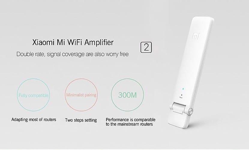 Amplificador de señal wifi de Xiaomi en oferta