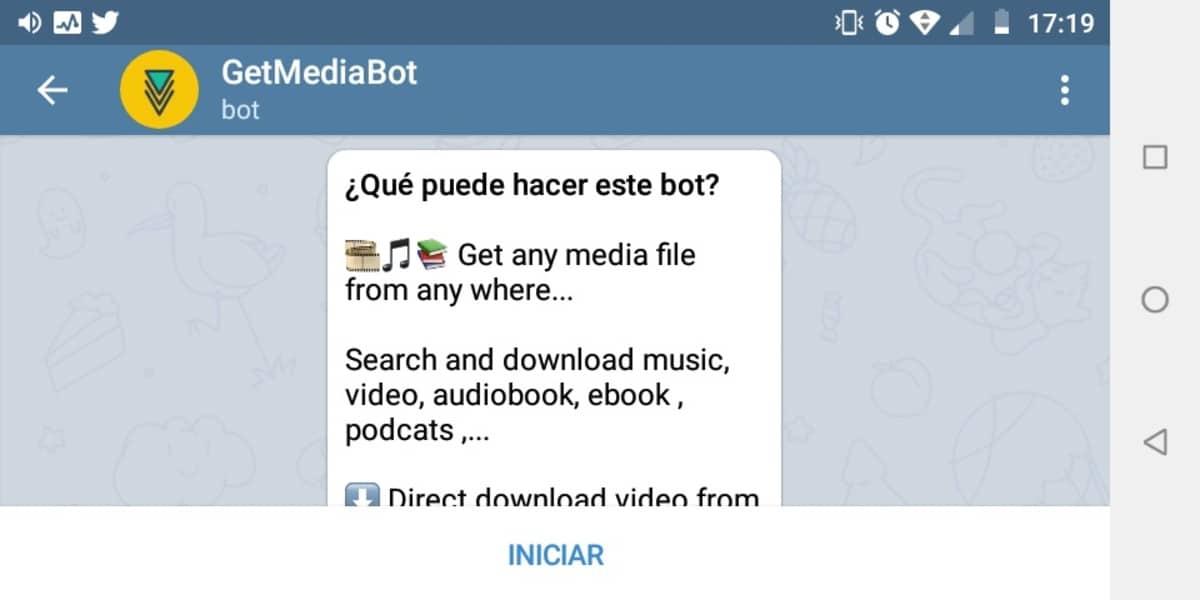Bots de Telegram para Descargar vídeos de Instagram