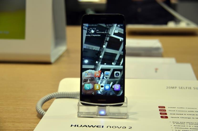 Pantalla del Huawei Nova 2